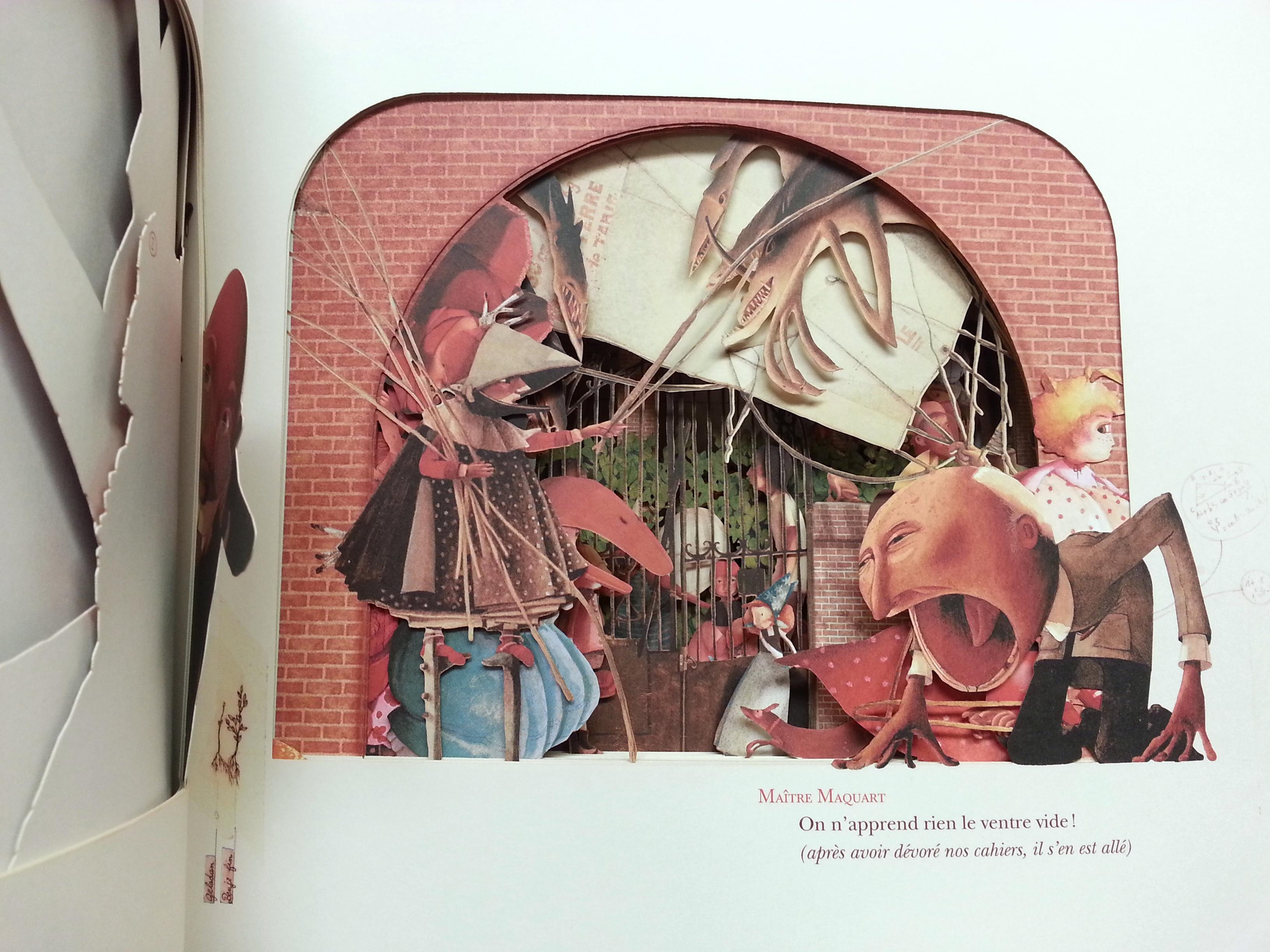 illustration becca making faces. Black Bedroom Furniture Sets. Home Design Ideas